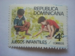 Stamps Dominican Republic -  Juegos infantiles