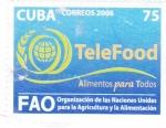 Sellos de America - Cuba -  FAO -Alimentos para todos