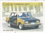 Stamps Cuba -  Taxi Lada 2105