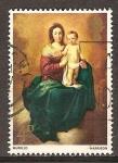 Sellos del Mundo : Europa : Reino_Unido : Navidad.Madonna y el Niño (Murillo).
