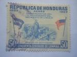 Stamps Honduras -  REPUBLICA DE HONDURAS