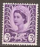 Stamps United Kingdom -  La Reina Isabel II.