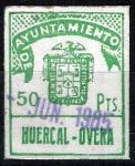 Sellos del Mundo : Europa : España : Ayuntamiento de Huercal-Overa.