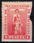 Stamps : Europe : Spain :  Colegio de huérfanos de Hacienda.