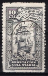 Stamps : Europe : Spain :  Mutualidad. Barco velero.