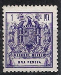 Stamps : Europe : Spain :  Timbre móvil.