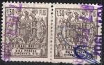Stamps : Europe : Spain :  Timbre móvil. Pareja.