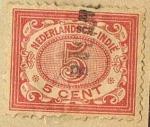 Stamps Indonesia -  INDIA HOLANDESA
