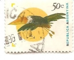 Stamps Argentina -  Tucan