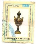 Stamps Argentina -  Regimiento de Granaderos a Caballo