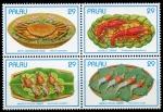 Stamps Oceania - Palau -  Mariscos