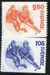 Sellos de Europa - Suecia -  Michel 1053/4 Bandy 2 v