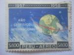 Stamps Peru -  Año geofisico internacional