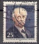 Stamps Germany -  369 - Hermann Von Hemmholtz, físico