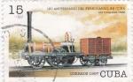 Sellos de America - Cuba -  180 aniv.del ferrocarril en Cuba