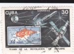 Sellos de America - Cuba -  70 aniv. de la revolución de octubre