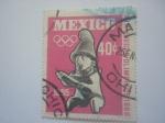 Sellos de America - México -  Olimpiadas mexico 68