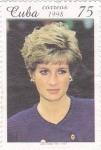 Stamps Cuba -  Lady Diana 1961-1997