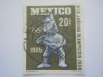 Stamps Mexico -  Olimpiadas mexico 68
