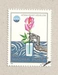 Stamps Hungary -  Protección medio ambiente