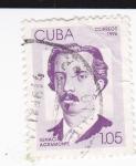 Stamps Cuba -  Ignacio Agramonte