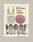 Sellos de Europa - Hungría -  800 Aniv. de la Abadía de Circ