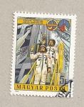 Sellos de Europa - Hungría -  Astronautas