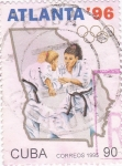 Stamps Cuba -  Atlanta-96