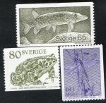 Sellos de Europa - Suecia -  Animals 3 v