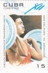 Sellos de America - Cuba -  Juegos deportivos panamericanos