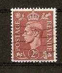 Stamps : Europe : United_Kingdom :  Jorge VI.