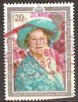 Sellos del Mundo : Europa : Reino_Unido : Reina Isabel la Conmemoración Reina Madre,1900-2002.