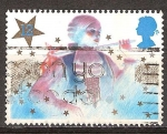 Sellos de Europa - Reino Unido -  Navidad. Personajes Pantomima