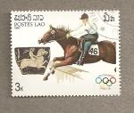 Stamps Laos -  Juegos Olímpicos Corea 1988