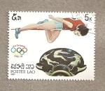 Stamps Asia - Laos -  Juegos Olímpicos Corea 1988