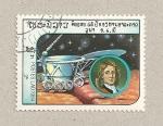 Sellos de Asia - Laos -  Ingenios espaciales