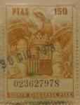 Sellos de Europa - España -  sello poliza ( 1970 )