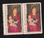 Stamps United States -  Christmas - Memling National Gallery of Art
