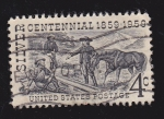 Stamps United States -  Silver Cenntenial  1859*1959