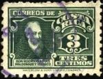 Stamps Costa Rica -  Don Rodrigo Arias Maldona y Velasco.