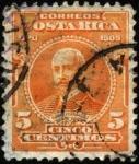 Stamps America - Costa Rica -  Mauro Fernández. UPU 1909.
