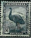Stamps : Oceania : Australia :  Emu