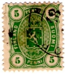 Stamps Europe - Finland -  Finland 1885