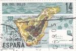 Sellos de Europa - España -  Día del sello- Código Postal -Tenerife    (C)