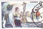 Stamps Spain -  Maestros de la Zarzuela  -  Maruxa    (C)