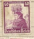 Stamps Germany -  Trajes regionales