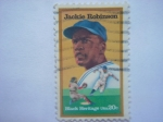 Stamps United States -  Jackie robinson