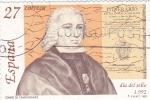 Sellos de Europa - España -  Día del sello  -Conde de Campomanes    (C)