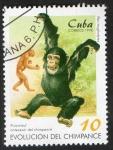Sellos del Mundo : America : Cuba :  Chimpance
