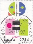 Sellos de Europa - España -  igualdad de sexos     (C)